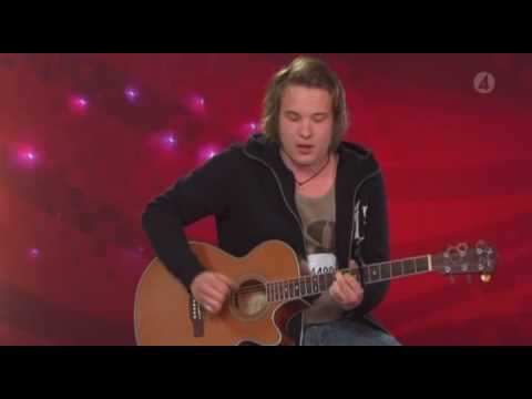 Calle Kristiansson - walking in memphis [ IDOL 2009 AMAZING !]