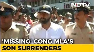 Congress MLA's Son, Accused Of Thrashing Man In Bengaluru, Surrenders - NDTVINDIA