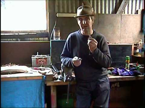 Tempering spring steel blacksmithing bushcraft forge.