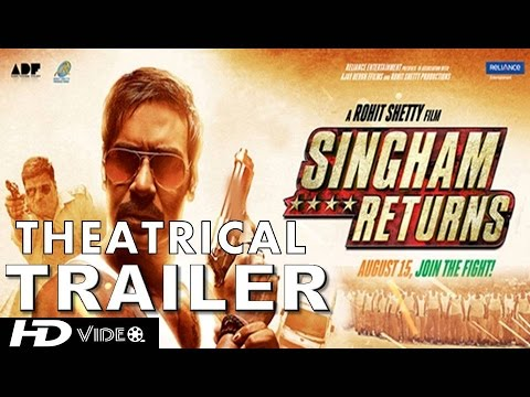 Singham Returns - Theatrical Trailer