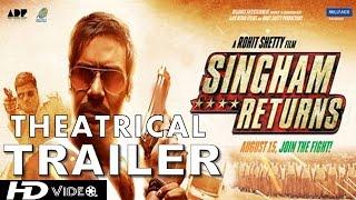 Singham Returns Official Theatrical Trailer   Ajay Devgn & Kareena Kapoor