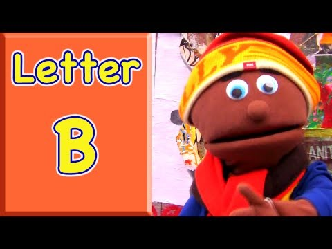 "The Letter B: Teach Toddlers words that begin with the letter ""B"""