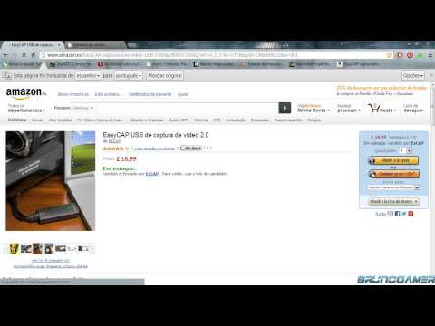 Compra do meu EasyCap | Amazon | Dicas | Video Extra
