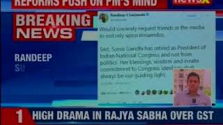 Randeep Surjewala on Sonia Gandhi's retirement row; requests media to not reply on innuendos - NEWSXLIVE
