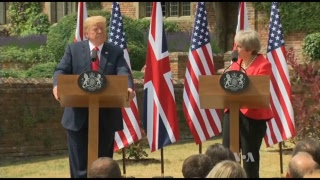Watch Live: President Trump and British PM May - VOAVIDEO