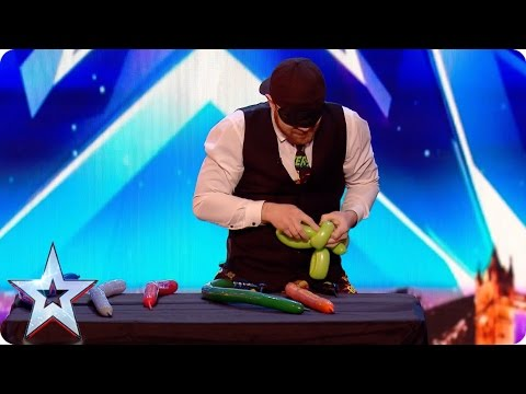 Preview: Can Ryan Tracey's balloons break the Guinness World Record? | Britain's Got Talent 2017