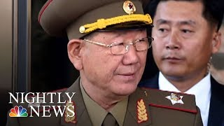 One Of Kim Jong Un's Top Generals Has Vanished | NBC Nightly News - NBCNEWS