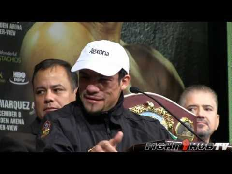 Manny Pacquiao vs. Juan Manuel Marquez 4: Full press conference highlights (HD)