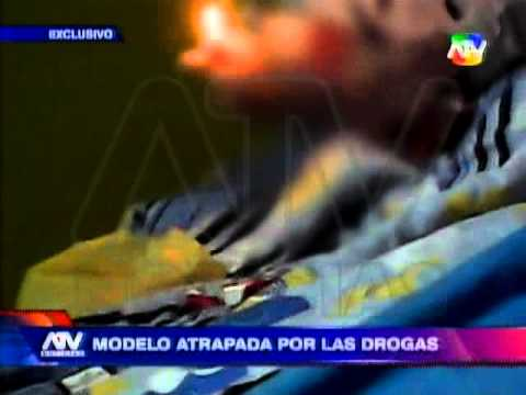 Tuteve.tv / Caroline Visser, modelo venezolana, volvió a caer en el mundo de las drogas