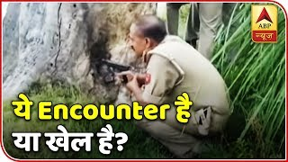 "Families of two criminals killed in an encounter by Aligarh police call it a ""fake encounter"" - ABPNEWSTV"