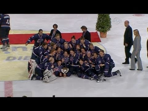 American Women 2011 Hockey Champions - from Universal Sports