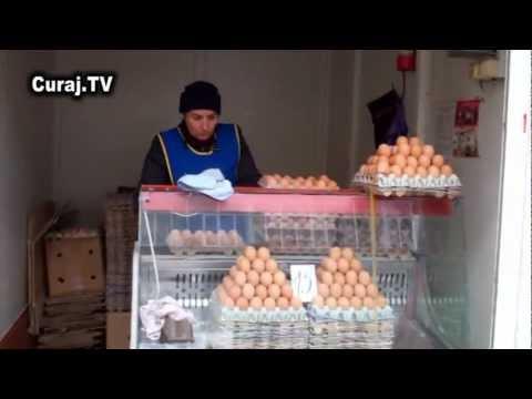 Ceartă cu ouă sparte