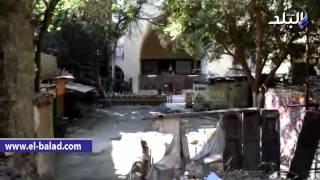 بالفيديو والصور..'المدرسة الصالحية'تاريخ تحول إلى'خرابة'في شارع المعز