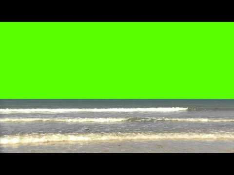 Ocean Shore with Waves Part 2 - Free Royalty Stock Footage HD