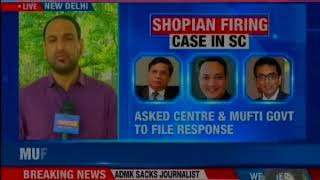 SC to hear centre's plea on Shopian case; major can't be treated like an ordinary man, says SC - NEWSXLIVE