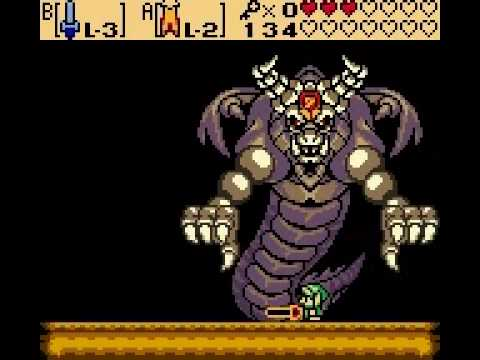 Zelda Oracle of Seasons - Final Boss : Onox