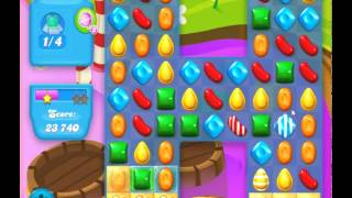 guide, tips, and cheats from Candy Crush Soda Saga Level 132 in video