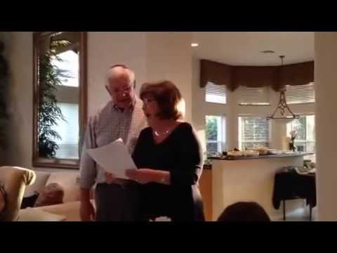 Trudy and Joel Balizer Passover Seder Opening Number