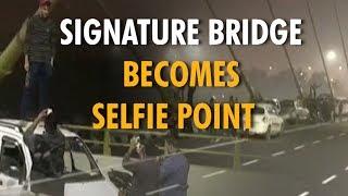 Delhi's Signature Bridge publicized as a tourist spot - ZEENEWS