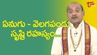 ఏనుగు - వెలగ పండు. సృష్టి రహస్యం... | Garikapati Narasimha Rao | TeluguOne - TELUGUONE