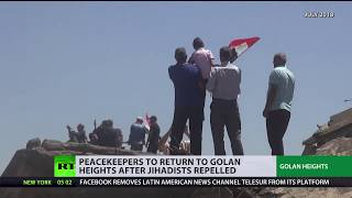 UN peacekeepers to return to Golan Heights after jihadists repelled - RUSSIATODAY