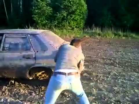 Car fix the Russian way - FAIL
