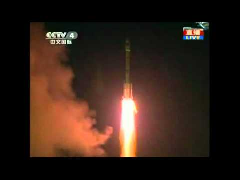 China's First Space Lab Module Lift-Off