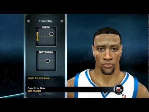 NBA 2K12 - How To Create Derrick Williams