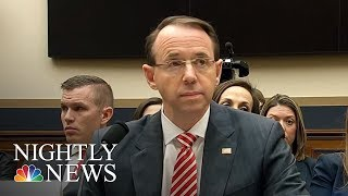 Texts Reveal Two FBI Officials In Russia Inquiry Had Anti-Trump sentiments | NBC Nightly News - NBCNEWS