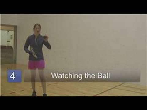 Racquetball : Racquetball Tips for Beginners
