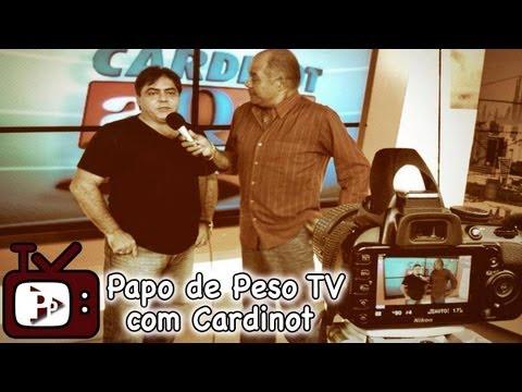 Programa Papo de Peso TV com Cardinot