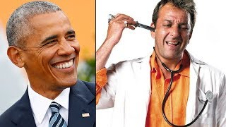Here's why Barack Obama addressed Sanjay Dutt as 'Munna Bhai' - TIMESOFINDIACHANNEL