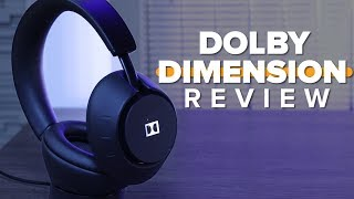 Dolby Dimension headphones review - CNETTV