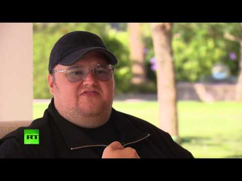 Kim Dotcom wants to encrypt half of the Internet to end government surveillance (RT INTERVIEW)