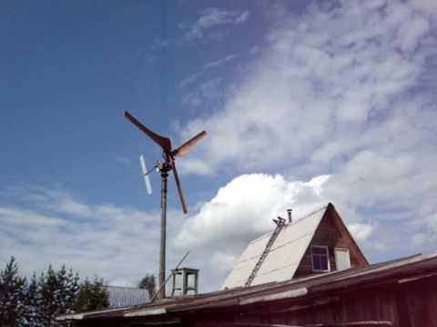 Ветряк 220в своими руками
