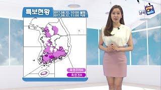 [날씨정보] 08월 12일 11시 발표