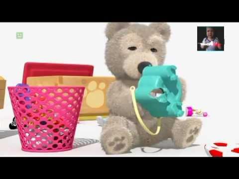 Mały miś Kuba-Nowe-stare zabawki