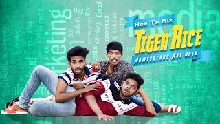 TIGER RICE || Telugu Comedy Film 2019 || Directed By Madhu Sugreevu - YOUTUBE
