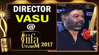 Excluisve : Director Vasu About His Movie With Nandamuri Balakrishna@ IIFA Utsavam     NTV - NTVTELUGUHD