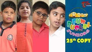 Fun Bucket JUNIORS   Silver Jubilee Episode 25   Kids Funny Videos   Comedy Web Series - TELUGUONE