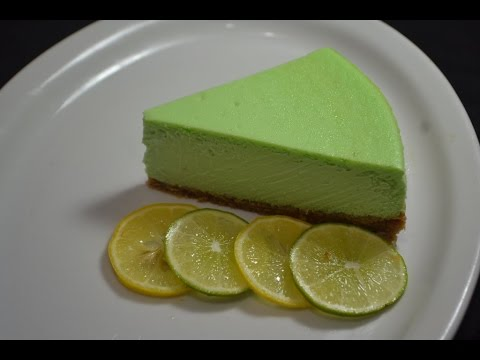 Pastel de queso con limon - Lemon Cheesecake