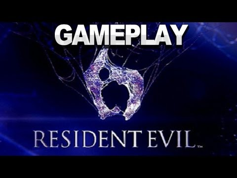 Resident Evil 6 - Gameplay Live Demo - E3 2012