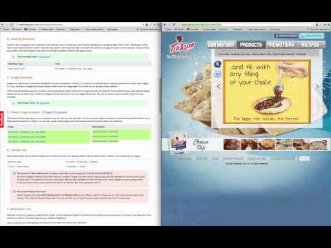 Tia Rosa Tortilla Website Review by