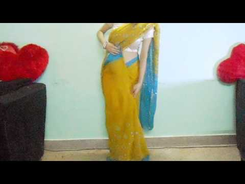 Step By Step Saree Wearing Video Tutorial-Indian Saree Draping/How To Wear A Sari