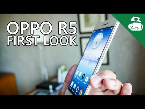 Oppo R5 First Look