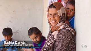 A Women-Only Village in Northern Syria is Home to Needy Families - VOAVIDEO