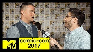 Channing Tatum Talks Marvel's 'Gambit' | Comic-Con 2017 | MTV - MTV