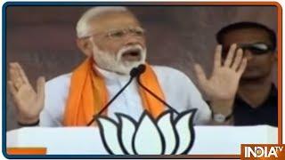 Karnataka में PM Modi बोले- हमारे सैनिकों ने हनुमान की तरह की Balakot के लंका को भस्म - INDIATV