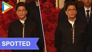 KING KHAN Shah Rukh Khan looks royal at Isha Ambani- Anand Piramal's grand Wedding Celebrations - HUNGAMA