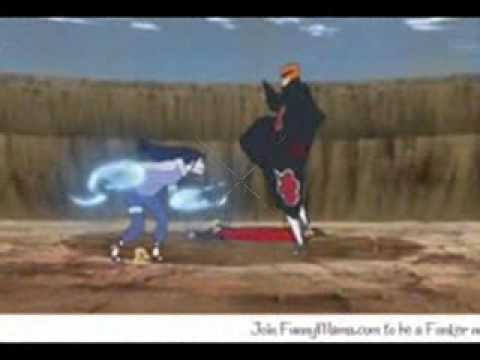 Naruto vs Pain; Hinata vs Pain
